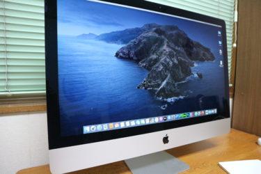 iMac 27インチ 5k 2017年モデルを1年強使って振り返る