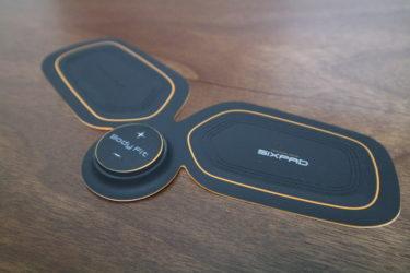装着して電気を流すだけで筋トレができる。シックパッド(SIXPAD)レビュー
