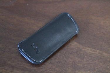 極限まで小さい!ベルロイ(Bellroy)のミニマルな革製キーケース・キーカバープラス Second Edition