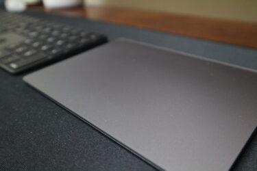 Magic Trackpad 2のスペースグレイがオシャレ。置いておくだけでインテリアになる!