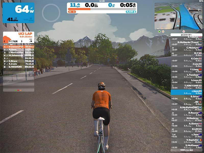 バーチャル自転車アプリZWIFTとは?