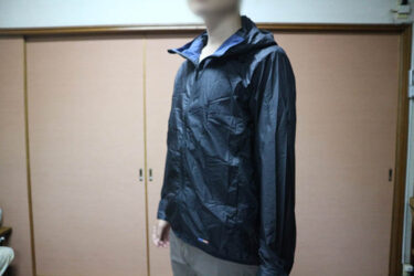 【Then,Packable Parka】dripの重さ100g未満の超軽量パーカーをレビュー。