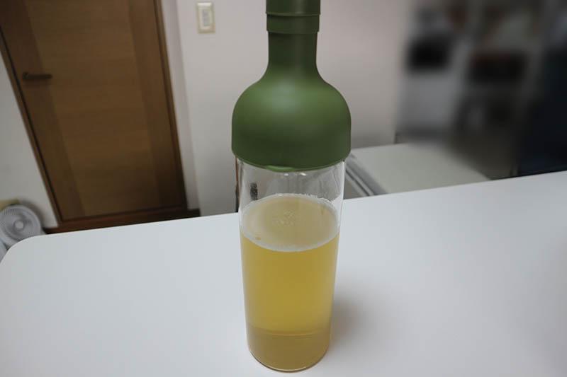 ワインボトルのようなスタイリッシュなデザイン